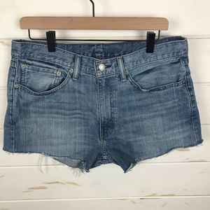 Levi's 514 Cutoff Denim Shorts